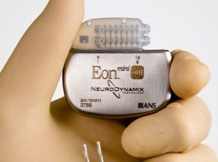Aansluiten van elektrode op stimulator